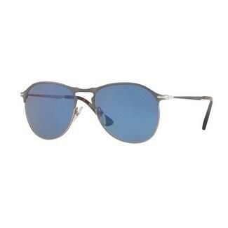 172acf1291d Shop Persol Aviator Po7649S 107156 Mens Blue Frame Blue Lens Sunglasses -  Free Shipping Today - Overstock.com - 17911338