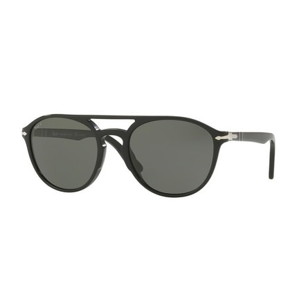 8f3f2c96a7d Shop Persol Mens s PO3170S 901458 55 Polar Green Plastic Rectangle  Sunglasses - On Sale - Free Shipping Today - Overstock.com - 17911356