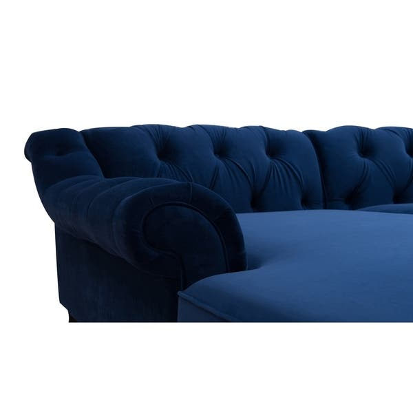 Fine Shop Gracewood Hollow Samkange Tufted Sectional Sofa 132 Alphanode Cool Chair Designs And Ideas Alphanodeonline