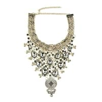 Eye Candy LA Anastasia Bib Statement Fashion Necklace