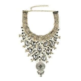 Eye Candy LA Anastasia Bib Statement Fashion Necklace