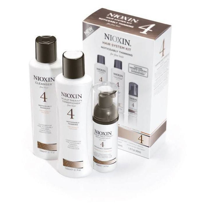 Nioxin System 4 Thinning System Kit Chemical Treated Set ...