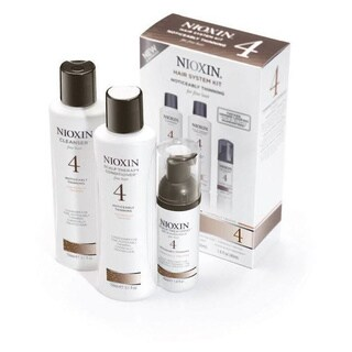 Nioxin System 4 Thinning System Kit Chemical Treated Set