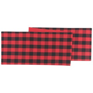 Now Designs Buffalo Check Table Runner|https://ak1.ostkcdn.com/images/products/17913645/P24095693.jpg?impolicy=medium
