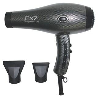 RX7 Superlite Ionic Tourmaline SIlver Hair Dryer