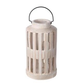 White Ceramic Lantern - Small