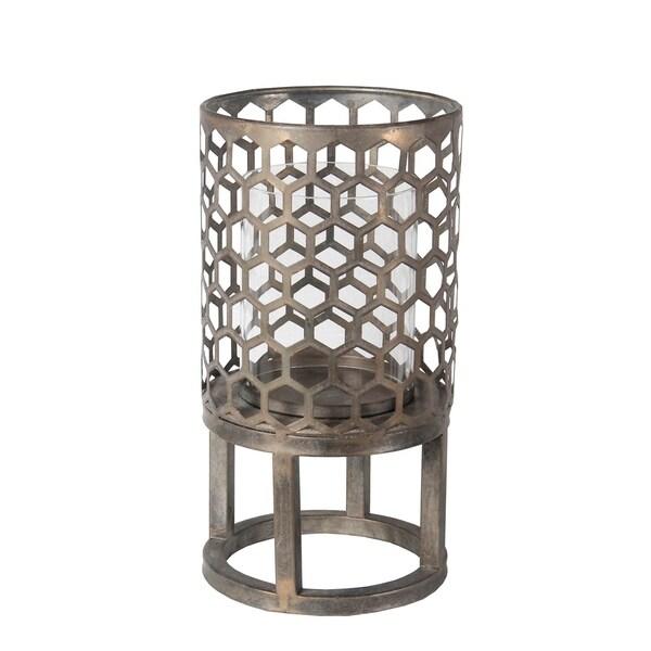 Small Candle Lantern - Iron
