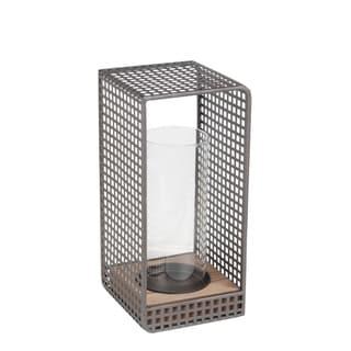 Small Lantern - Wood & Iron