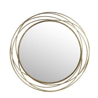 Iron Wall Mirror - Gold