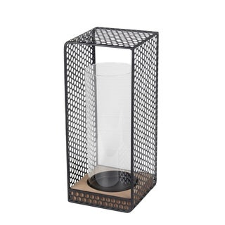 Large Lantern - Wood & Iron