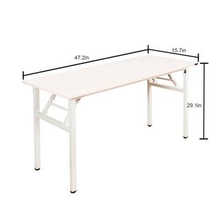 "Need Computer Folding Table Office Desk, 47""L x 15.7""W"