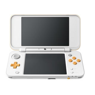 Nintendo 2DS XL, White & Orange
