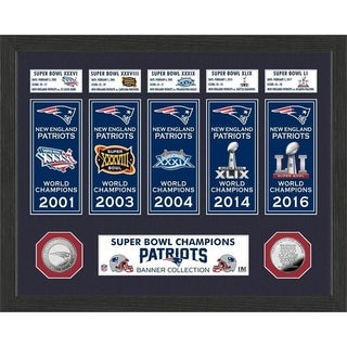 New England Patriots Champions Banner Collection Photo Mint