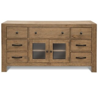 Griffith Farmhouse Weathered Toffee Entertainment Console