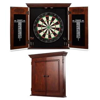 Barrington - Chatham Bristle Dartboard and Cabinet Set