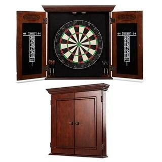 Barrington - Chatham Bristle Dartboard and Cabinet Set
