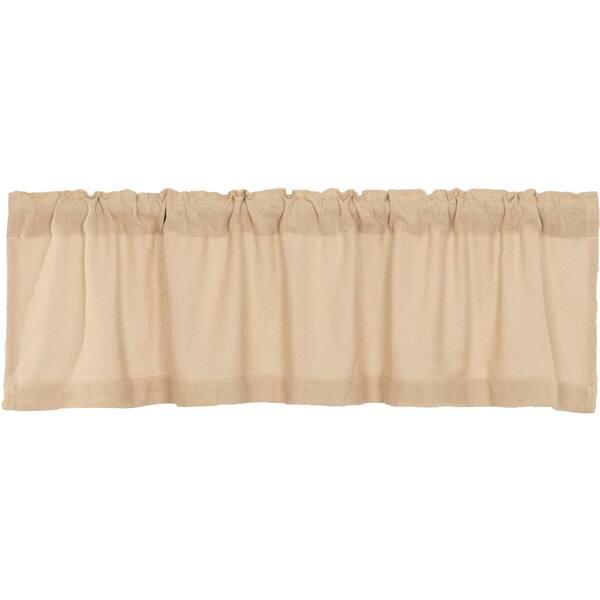 Shop Farmhouse Kitchen Curtains VHC Cotton Burlap Valance ...