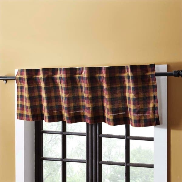 Shop Red Primitive Kitchen Curtains VHC Heritage Farms ...