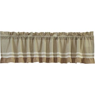 Kendra Stripe Lined Valance (More options available)