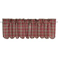 Graham Scalloped Lined Valance