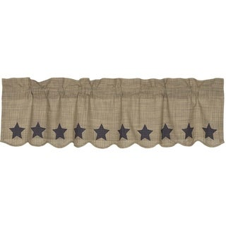 Vincent Scalloped Lined Valance