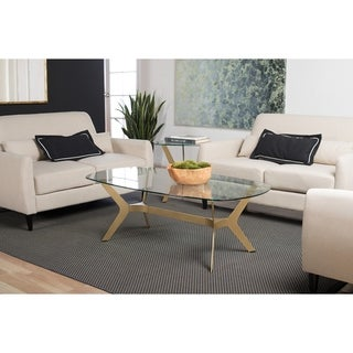 Silver Orchid Myers 52-inch Coffee Table