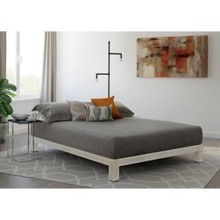 Vesta White Metal Slatted Platform Bed|https://ak1.ostkcdn.com/images/products/17925784/P24106725.jpg?impolicy=medium