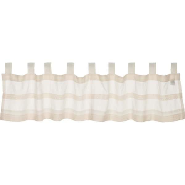 Shop Farmhouse Kitchen Curtains VHC Quinn Valance Tab Top ...