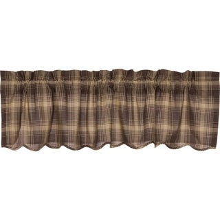 Dawson Star Scalloped Lined Valance