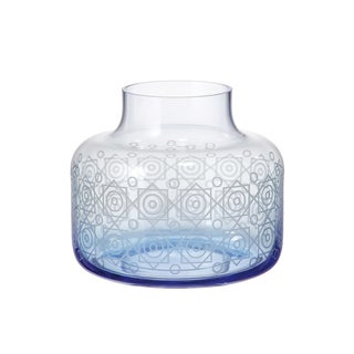 Red Vanilla Cosmopolitan Blue Vase