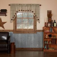 "Abilene Star Swag Set - 36"" x 36"""