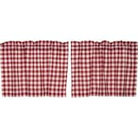 Buffalo Red Check Lined Tier Set