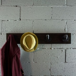 Furniture Pipeline San Antonio Industrial Wall Mounted Coat Rack