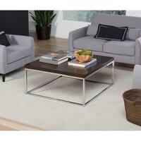 """Studio Designs Home Pergola 36"""" Square Coffee Table"""