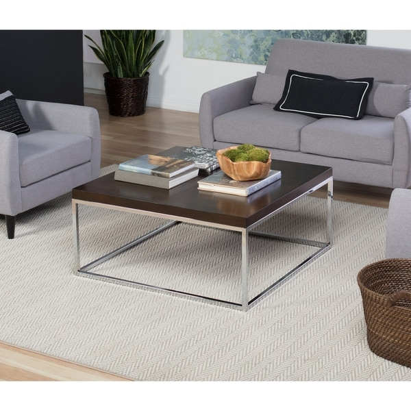 Studio Designs Home Pergola 36 Square Coffee Table