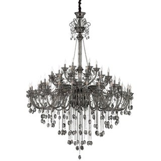 Eurofase Briggs Piping Oval Chandelier, Aged Retouched Bronze Finish