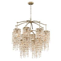 Eurofase Savannah 12-Light Chandelier, Antique Bronze Finish - 28000-013