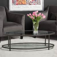 "Clay Alder Home Blair 48"" Oval Coffee Table"