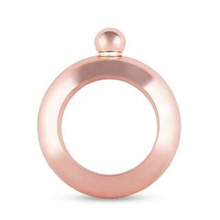 Charade: Rose Gold Bracelet Flask by Blush