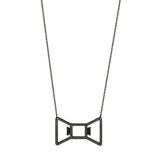Bowtie: Black Necklace Bottle Opener