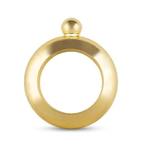 Charade: Gold Bracelet Flask by Blush