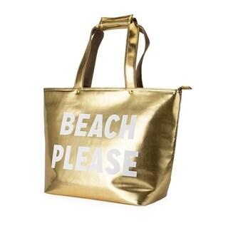 Beach Please Insulated Tote