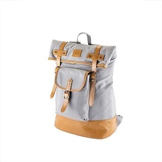 Insulated Canvas Cooler Adventure Backpack by Foster & Rye