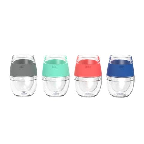 Wine FREEZE Cooling Cups (set of 4) by HOST®