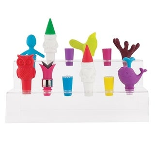 2 Tier Bottle Stopper And Pourer Display by True