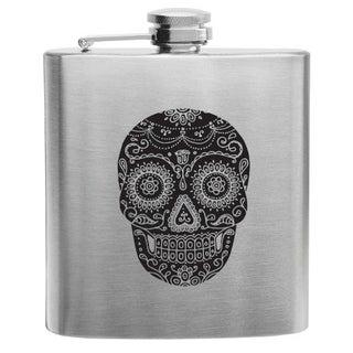 Dia De Los Muertos Stainless Steel Flask by True