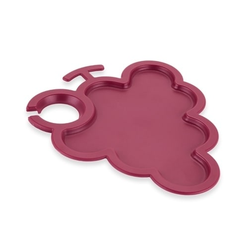 B&G Cluster™: Grape Party Plate, Multi (Plastic)