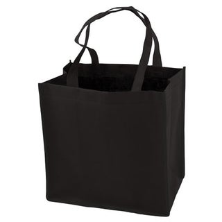 Black Reusable Grocery Tote by True