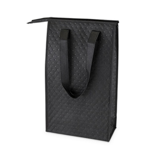 Nomad 2-Bottle Insulated Tote in Black by True