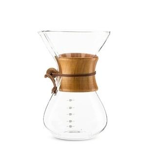 Finesse Glass Coffee Maker by True